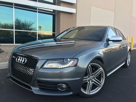 2012 Audi S4 for sale at AZ Auto Gallery in Mesa AZ
