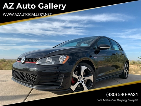 Used Cars Mesa Az >> 2015 Volkswagen Golf Gti For Sale In Mesa Az