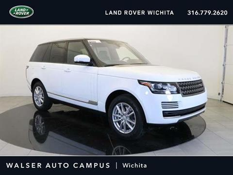 2017 Land Rover Range Rover for sale in Wichita, KS