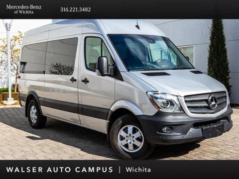 2016 Mercedes-Benz Sprinter Passenger Vans for sale in Wichita, KS