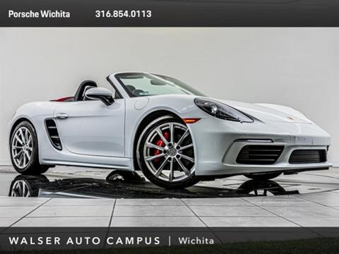 2018 Porsche 718 Boxster for sale in Wichita, KS