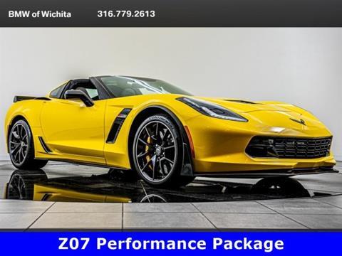 Used Cars Wichita Ks >> 2017 Chevrolet Corvette For Sale In Wichita Ks