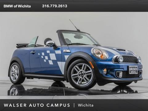 Used Mini Cooper Convertible >> 2012 Mini Cooper Convertible For Sale In Wichita Ks