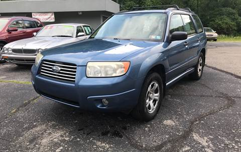 2007 Subaru Forester for sale in Glenshaw, PA