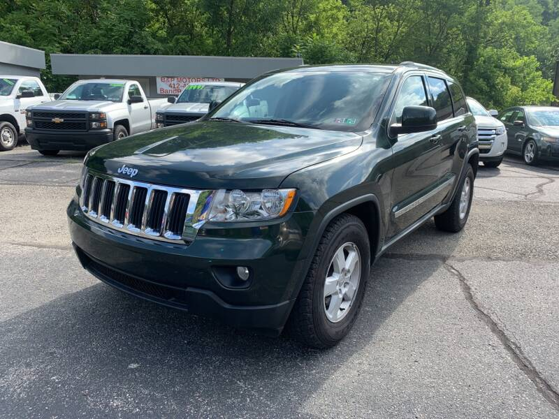 2011 Jeep Grand Cherokee for sale at B & P Motors LTD in Glenshaw PA