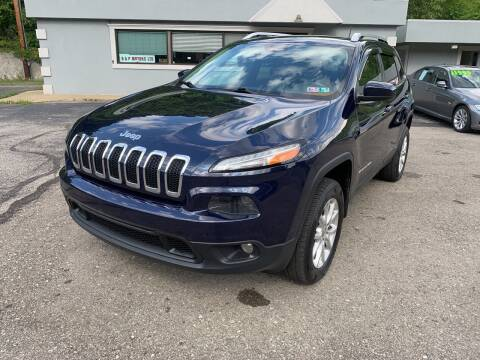2014 Jeep Cherokee for sale at B & P Motors LTD in Glenshaw PA