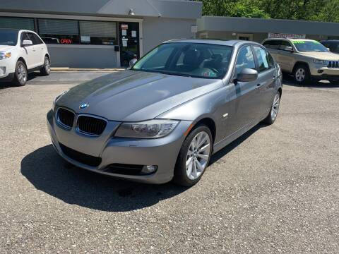 2011 BMW 3 Series for sale at B & P Motors LTD in Glenshaw PA