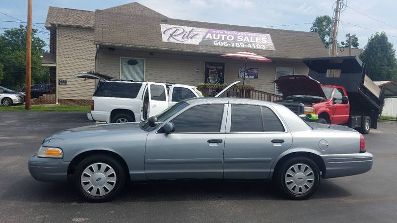 2008 Ford Crown Victoria Police Interceptor In Paintsville KY - Ritz ...