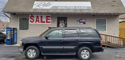2005 Chevrolet Tahoe for sale at Ritz Auto Sales, LLC in Paintsville KY