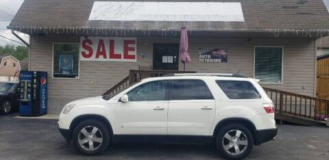2010 GMC Acadia for sale at Ritz Auto Sales, LLC in Paintsville KY