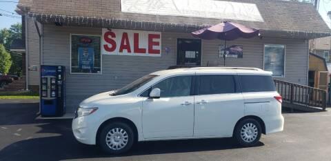 2012 Nissan Quest for sale at Ritz Auto Sales, LLC in Paintsville KY