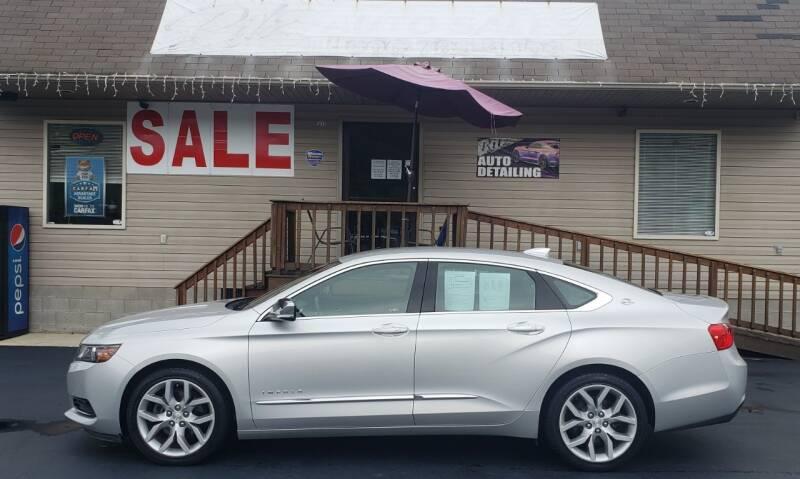 2017 Chevrolet Impala for sale at Ritz Auto Sales, LLC in Paintsville KY