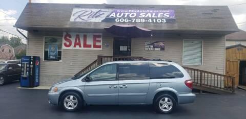 2005 Dodge Grand Caravan for sale at Ritz Auto Sales, LLC in Paintsville KY