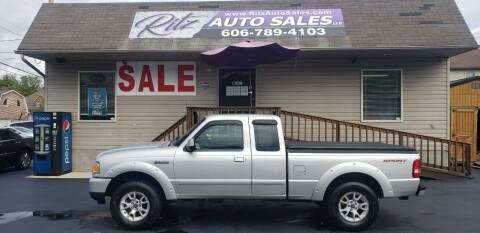 2010 Ford Ranger for sale at Ritz Auto Sales, LLC in Paintsville KY