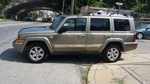 2006 Jeep Commander for sale at GM Automotive Group in Philadelphia PA