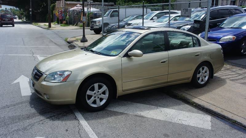 2003 Nissan Altima For Sale At Gm Automotive Group In Philadelphia PA