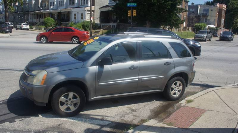 2006 Chevrolet Equinox For Sale At Gm Automotive Group In Philadelphia PA