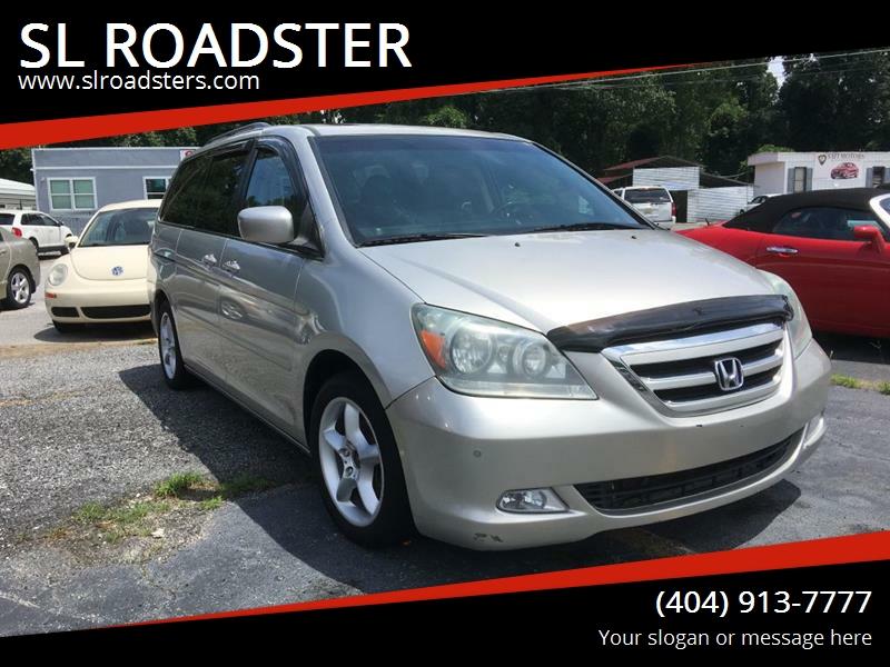 2007 Honda Odyssey For Sale At SL ROADSTER In Loganville GA