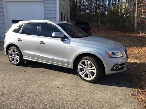 2015 Audi SQ5 for sale at Renaissance Auto Wholesalers in Newmarket NH