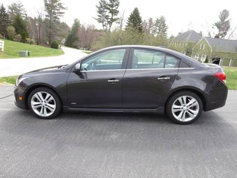 2015 Chevrolet Cruze for sale at Renaissance Auto Wholesalers in Newmarket NH