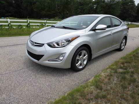 2016 Hyundai Elantra for sale at Renaissance Auto Wholesalers in Newmarket NH