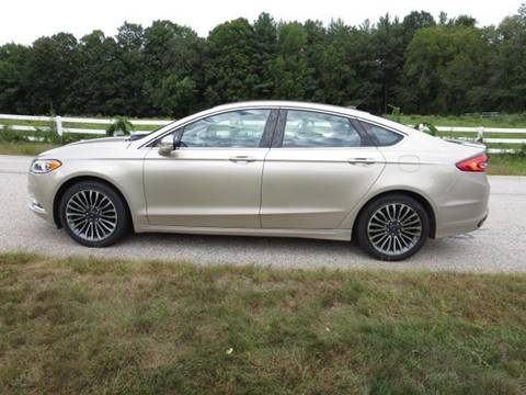 2017 Ford Fusion for sale at Renaissance Auto Wholesalers in Newmarket NH