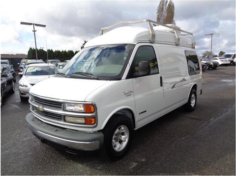 Passenger van for sale in everett wa for Corn motors everett wa