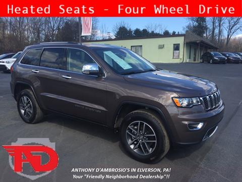 2018 Jeep Grand Cherokee for sale in Elverson, PA