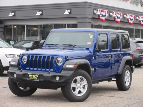 2018 Jeep Wrangler Unlimited for sale in Somersworth, NH