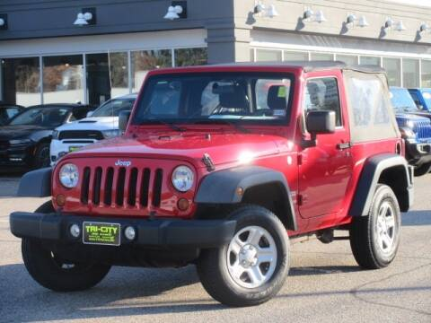 2011 Jeep Wrangler for sale in Somersworth, NH