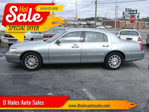 2006 Lincoln Town Car for sale in Fayetteville, NC