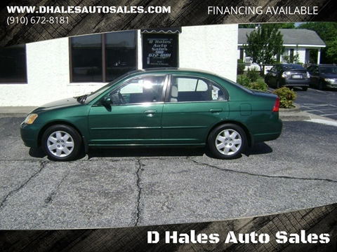 2001 Honda Civic for sale in Fayetteville, NC
