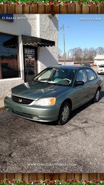 Honda Fayetteville Nc >> 2003 Honda Civic For Sale In Fayetteville Nc