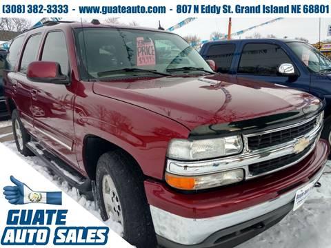 Used 2005 chevrolet tahoe for sale in nebraska for Lanny carlson motor inc kearney ne