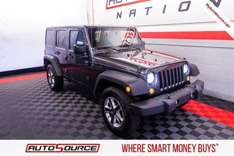 2017 Jeep Wrangler Unlimited for sale in Draper, UT