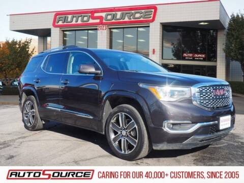 2017 GMC Acadia Denali for sale at AutoSource Draper in Draper UT