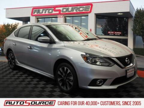 2018 Nissan Sentra SR for sale at AutoSource Draper in Draper UT