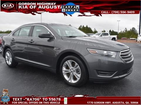 Ford Of Augusta >> 2018 Ford Taurus For Sale In Augusta Ga