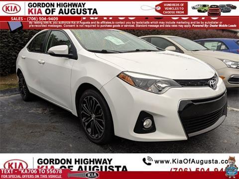 2016 Toyota Corolla for sale in Augusta, GA
