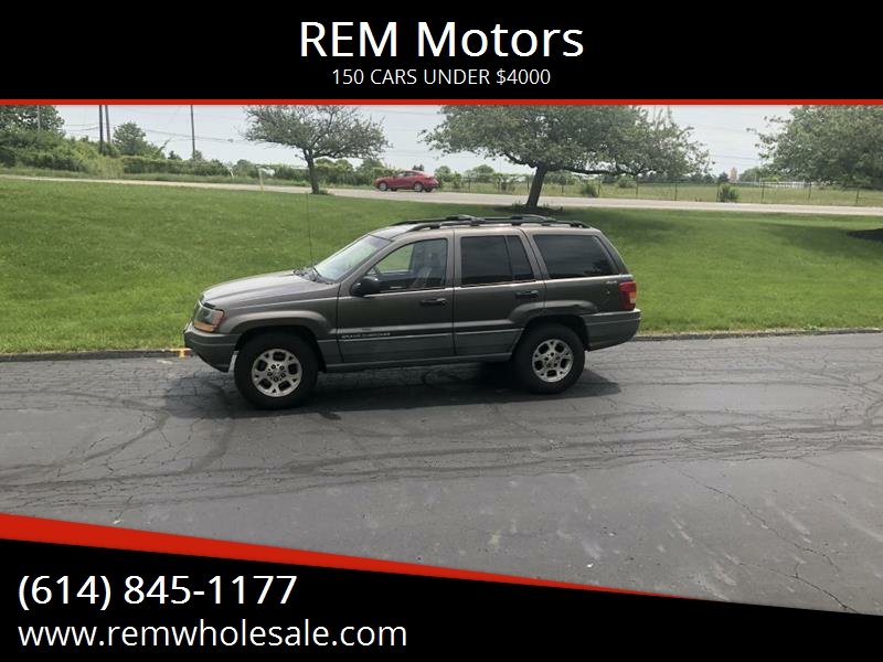 1999 Jeep Grand Cherokee For Sale At REM Motors In Columbus OH