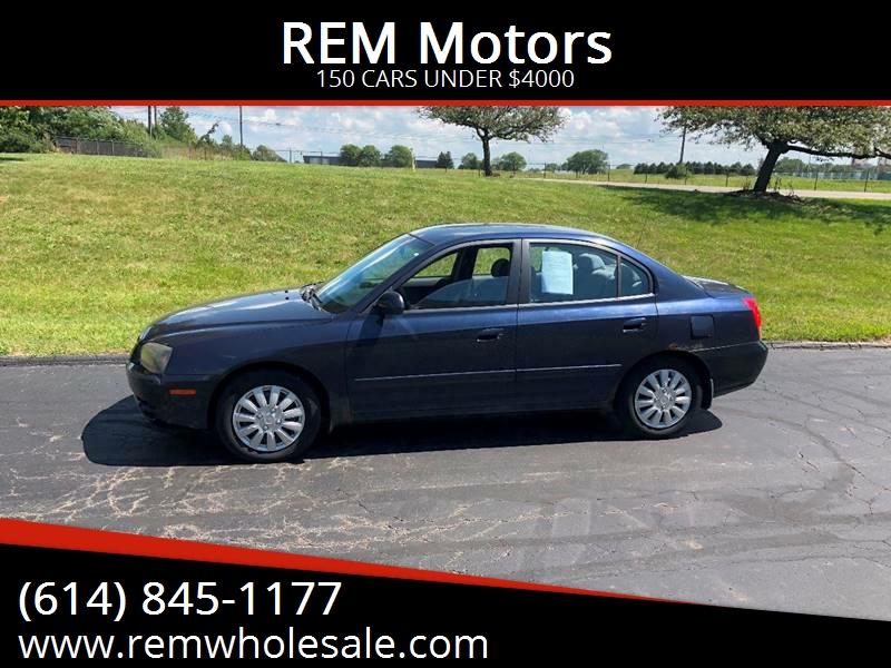 2005 Hyundai Elantra For Sale At REM Motors In Columbus OH