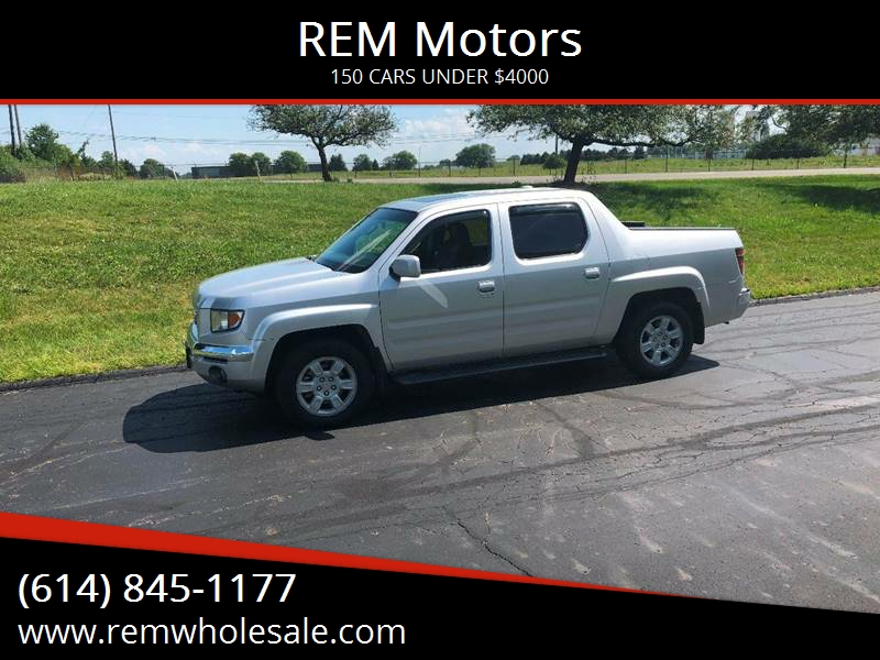 2006 Honda Ridgeline For Sale At REM Motors In Columbus OH