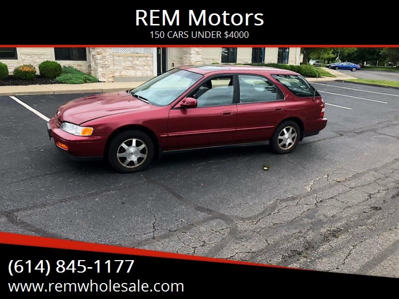 1995 Honda Accord For Sale At REM Motors In Columbus OH