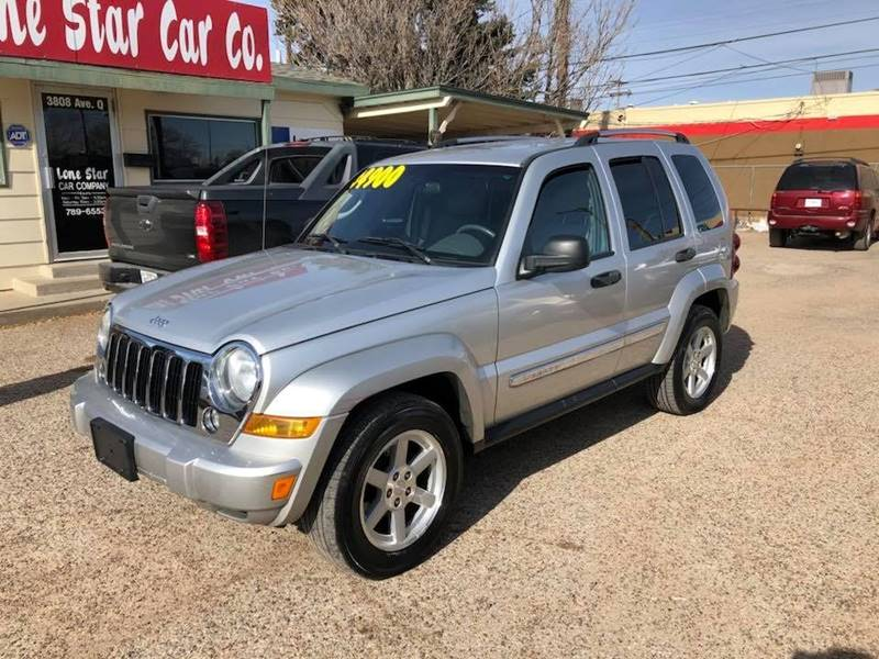 2007 Jeep Liberty For Sale At LONE STAR CAR CO In Lubbock TX