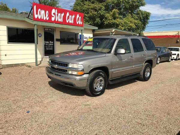 2000 Chevrolet Tahoe Lt In Lubbock Tx Lone Star Car Co