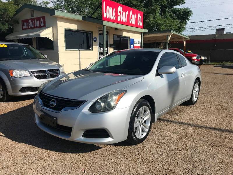 2011 Nissan Altima For Sale At LONE STAR CAR CO In Lubbock TX