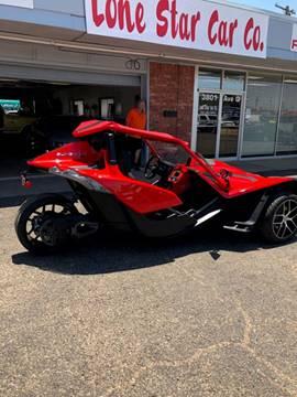 2016 Polaris Slingshot PRICE SLASHED for sale in Lubbock, TX
