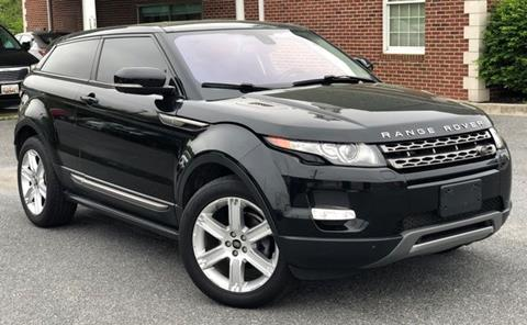 2013 Land Rover Range Rover Evoque Coupe Pure Plus