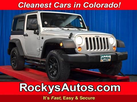 2009 Jeep Wrangler for sale in Denver, CO
