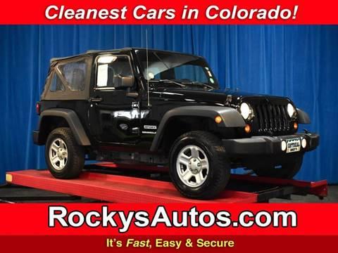 2011 Jeep Wrangler for sale in Denver, CO